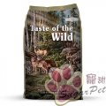 Taste of the Wild ® Pine Forest™ 無穀物鹿肉+鷹嘴豆配方 5lb